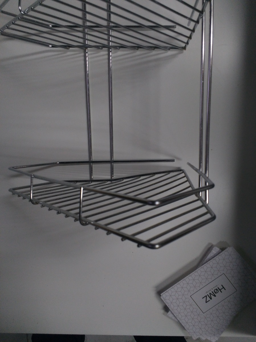 organizador esquinero 3 estantes - cromado - baño o cocina. Cargando zoom. 8d134984f7eb