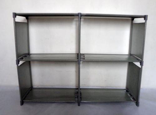 organizador estante closet plergable para ropa y otros