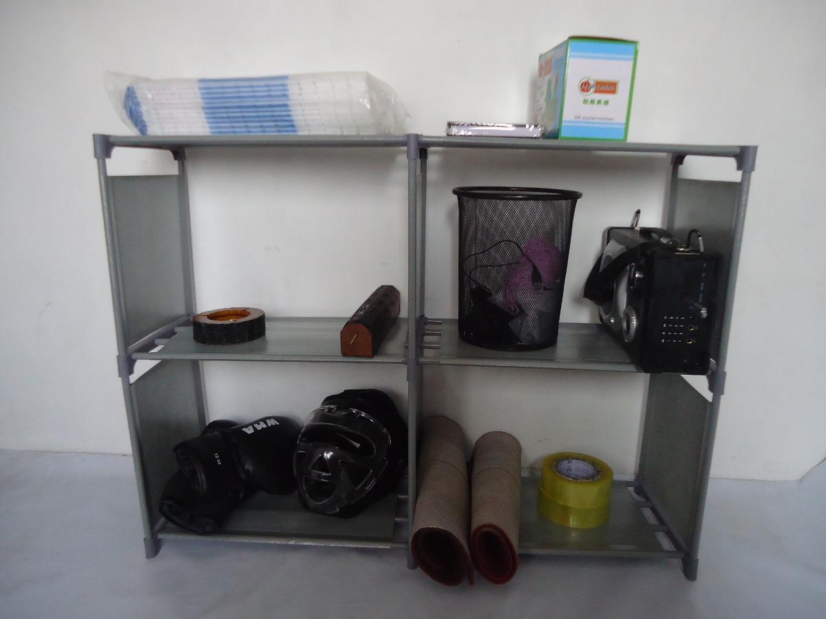 Organizador estante closet plergable para ropa y otros for Organizadores para closet