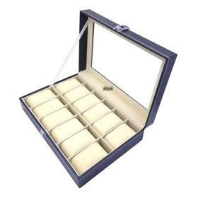 Organizador Estuche Caja 12 Relojes  Sippo Nuevo Elegante