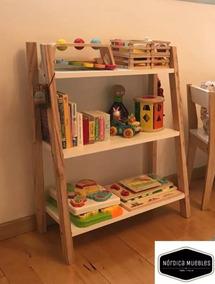 Nordico Guarda Juguetes Repisa Organizador Biblioteca Niños iZOPkuTX