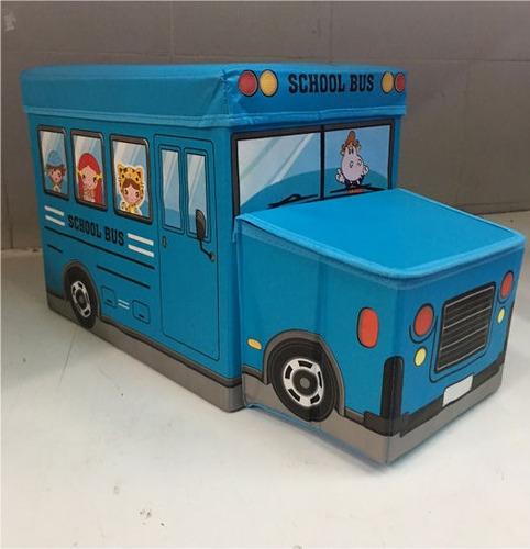 organizador infantil bus