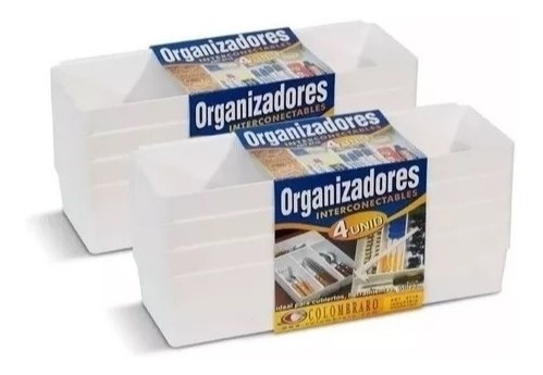 organizador interconectable de cajones - colombraro
