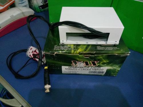 organizador junior modulo 4 canais híbrido max eletron