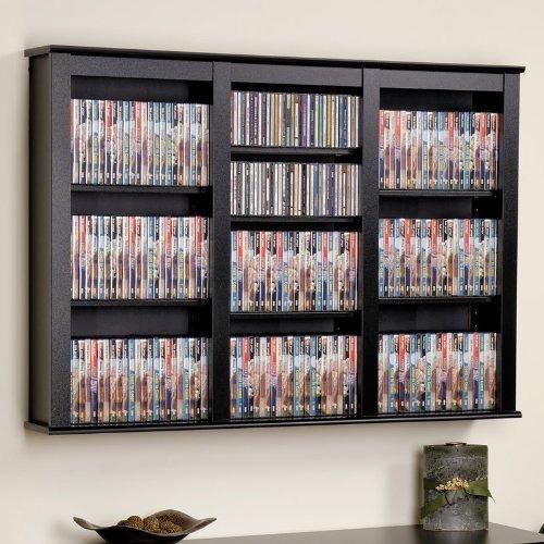 organizador librero almacenamiento cd dvd libros colgante