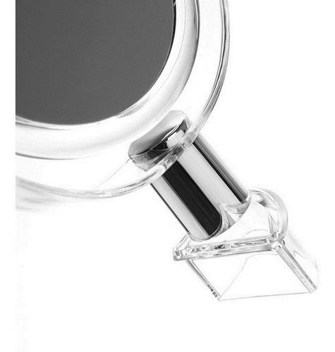 organizador maleta maquiagem espelho 4 gavetas 16 divisorias