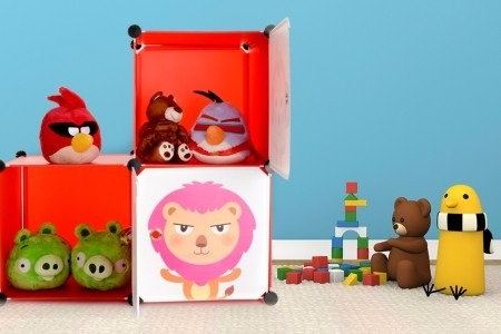 Organizador modular ni o tipo mueble para juguetes en mercado libre - Mueble organizador de juguetes ...