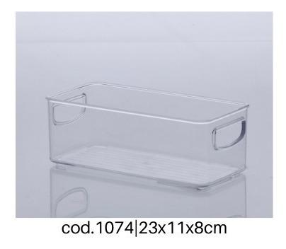 organizador multiuso diamond cristal paramount 6 peças 1074