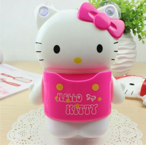 organizador multiusos hello kitty con 4 chupones