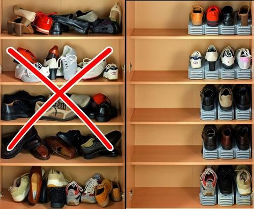 organizador ordenador calzados zapatos zapatillas botinero