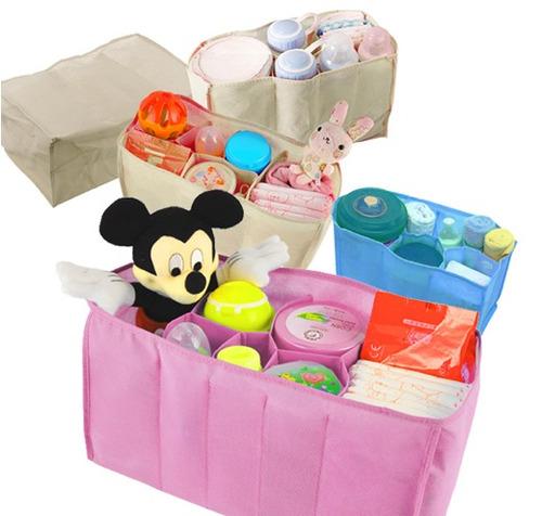 organizador pañalera bebes x insertar en cualquier bolso