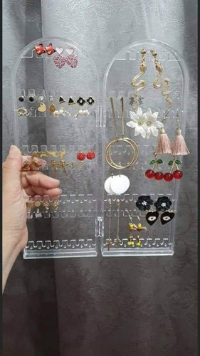 organizador para aretes y accesorios de acrílico