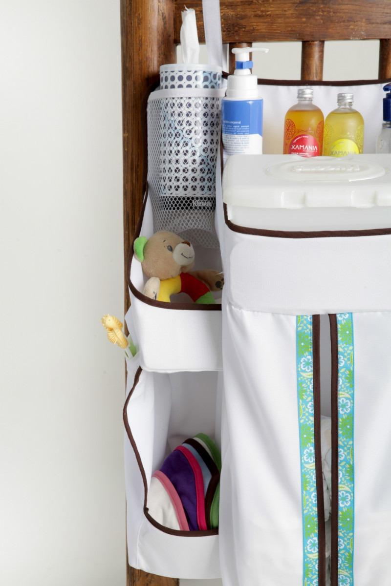 Organizador para beb de pa ales y accesorios demilamores en mercado libre - Organizador de cuna ...