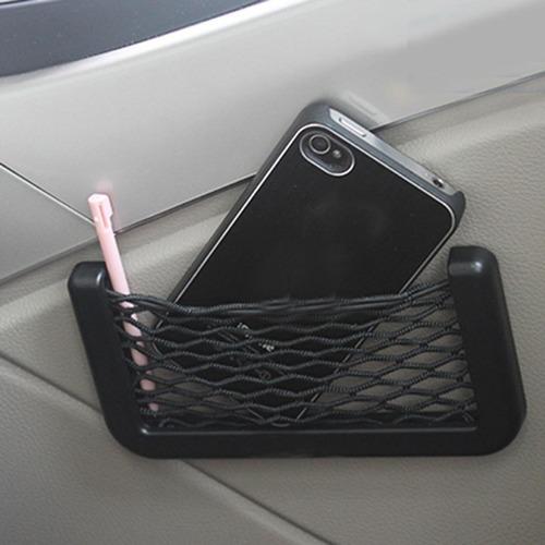 organizador para carro celular llaves malla vehiculo bolsa