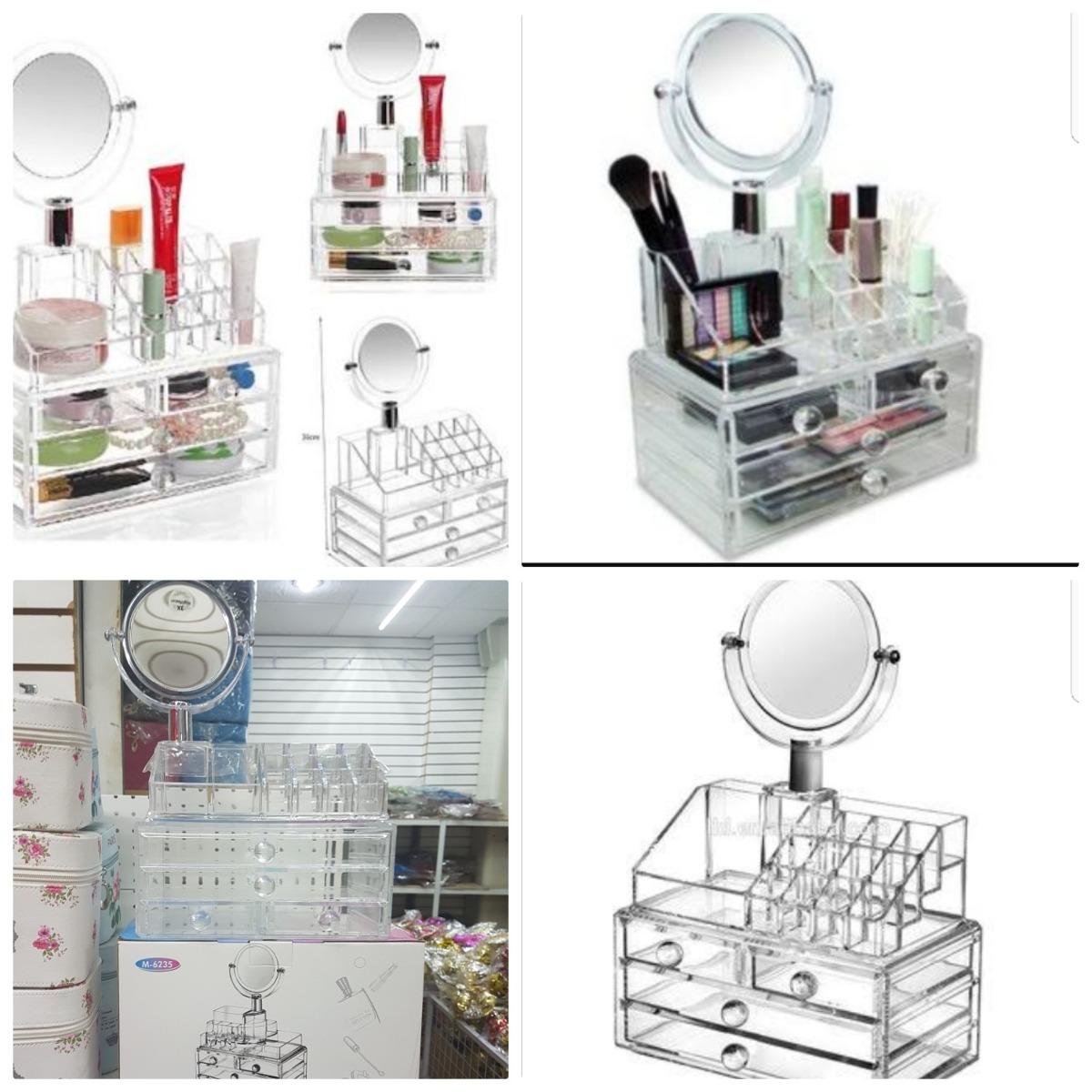Organizador De Maquillajes De Espejo En Mercado Libre M Xico ~ Organizador De Joyas Para Cajones