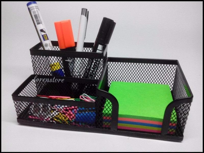 Organizador para escritorio en malla accesorios para oficin en mercado libre - Organizadores escritorio ...