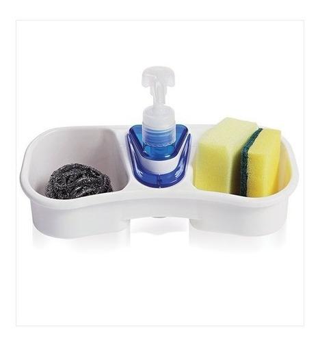 organizador para fregadero despachador jabón cocina