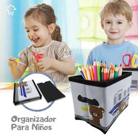 Juguetes Rf Para Niños Organizador Oso 4 Lapices Libro 36271 CoBxed