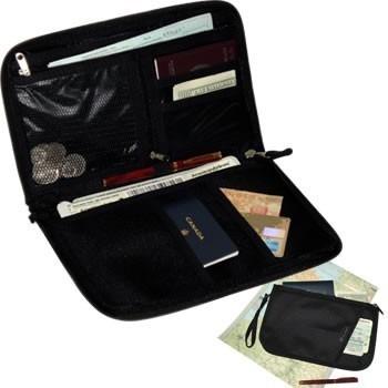 organizador pasaportes tarjetero billetera viajes/e-sotano
