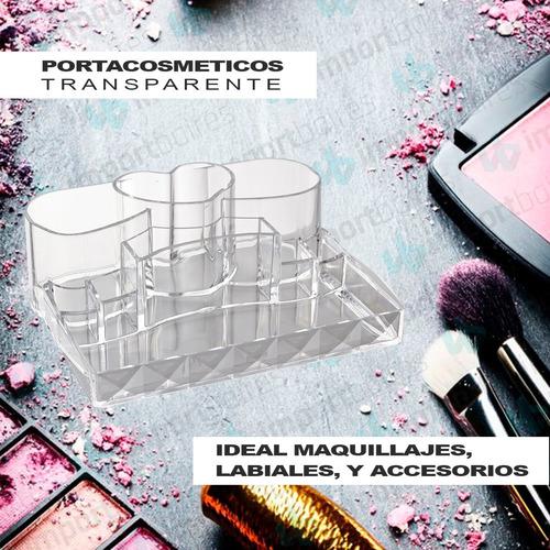 organizador porta cosméticos multiuso maquillaje pinceles