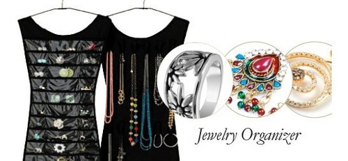 organizador porta joias de bijouterias guarda roupa cabide