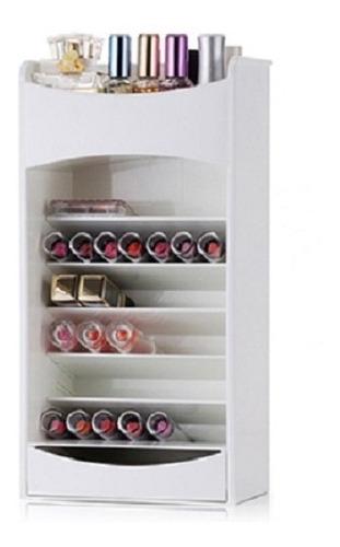 organizador porta maquiagem esmalte 7 prateleiras estante