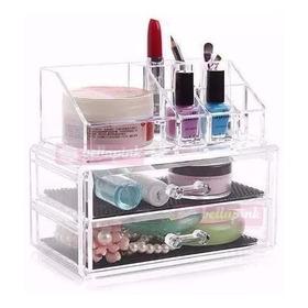 Organizador Porta Maquiagem Pincel Batom Acrilico Grande ++b