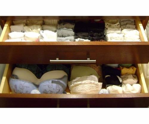 organizador porta sutiã bojo gaveta guarda roupa armário