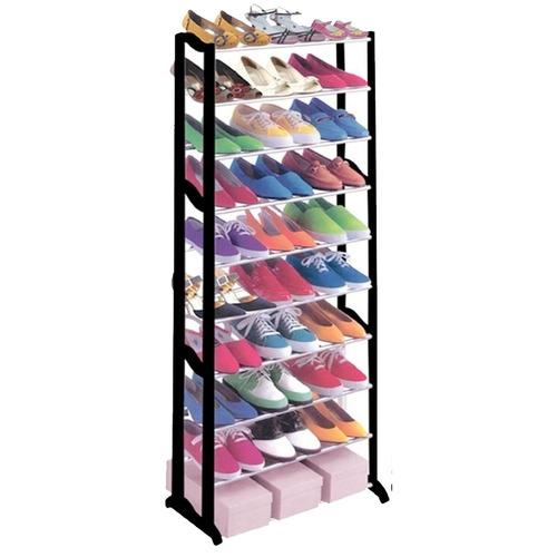 organizador rack zapatos zapatillas para 30 pares