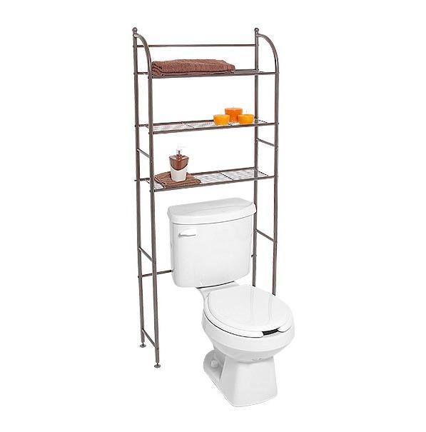 Organizador repisas toallero estanteria mueble para ba o for Repisas para bano rimax