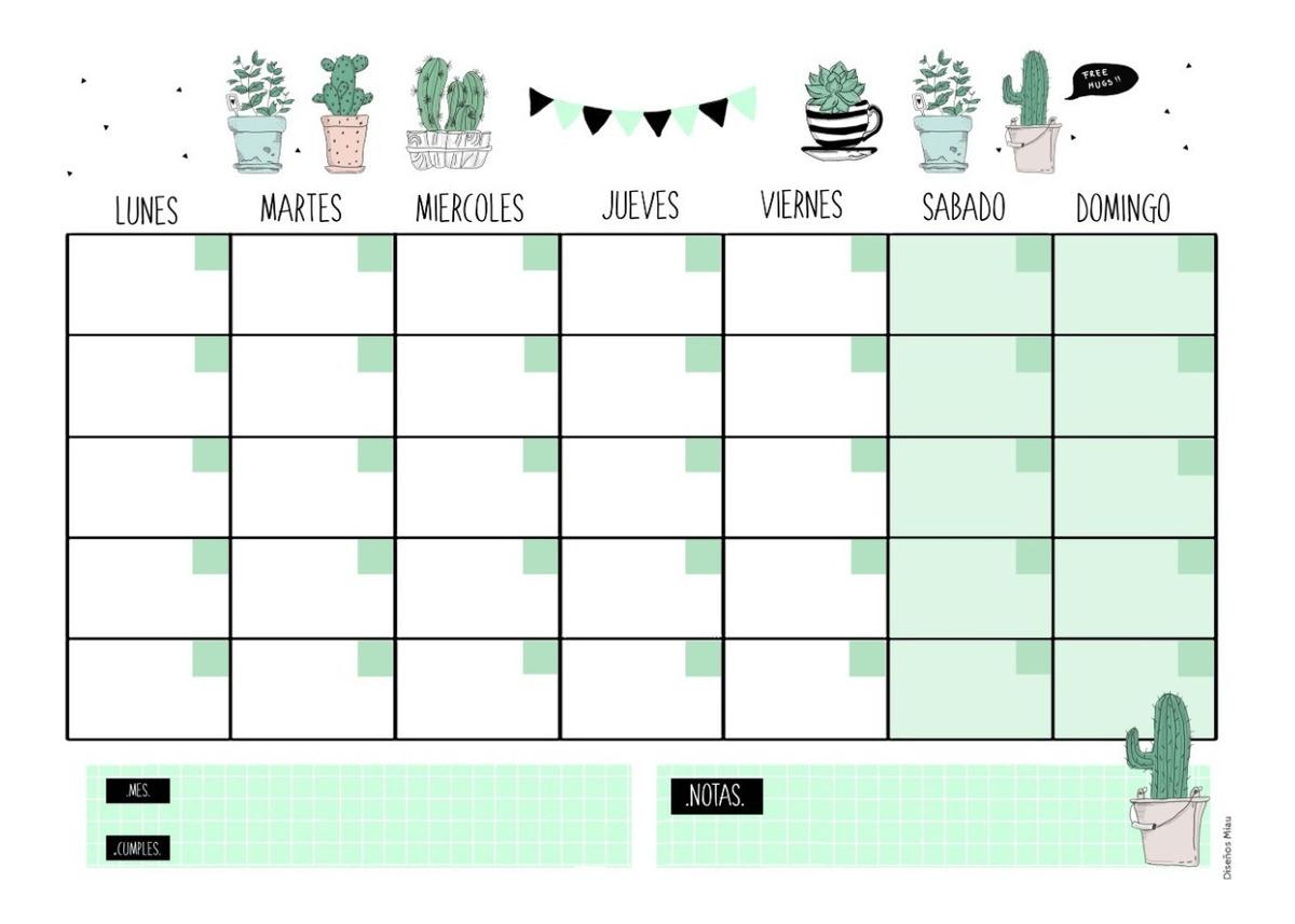 Calendario Semanal.Organizador Semanal Calendario De Iman Grande 30 X 40 Cm