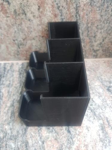 organizador suporte cápsulas nespresso  modelo de 3 caixas