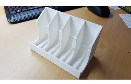 organizador suporte cápsulas nespresso  modelo de 5 caixas