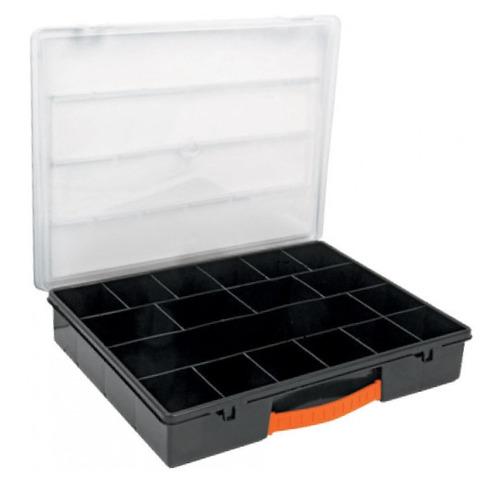 organizador truper 18 compartimentos 35 x 28 x 6 cm org-18