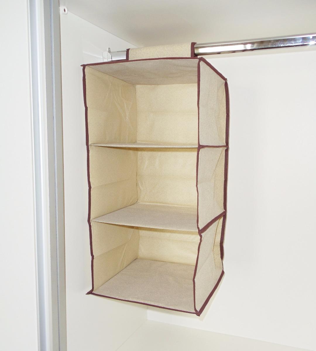Organizador vertical de armarios guarda roupa prateleira r 34 99 em mercado livre - Organizador armarios ...