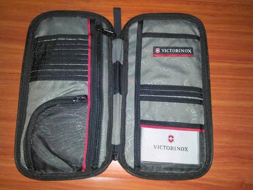 organizador wallet portachequera billetera victorinox