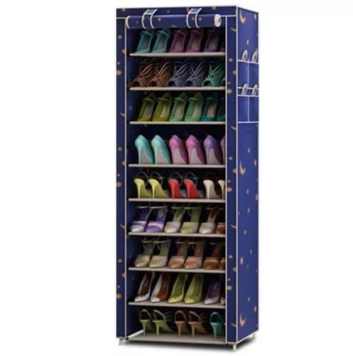 organizador zapatos 6 pisos 12 pares con fundas / eshopviña