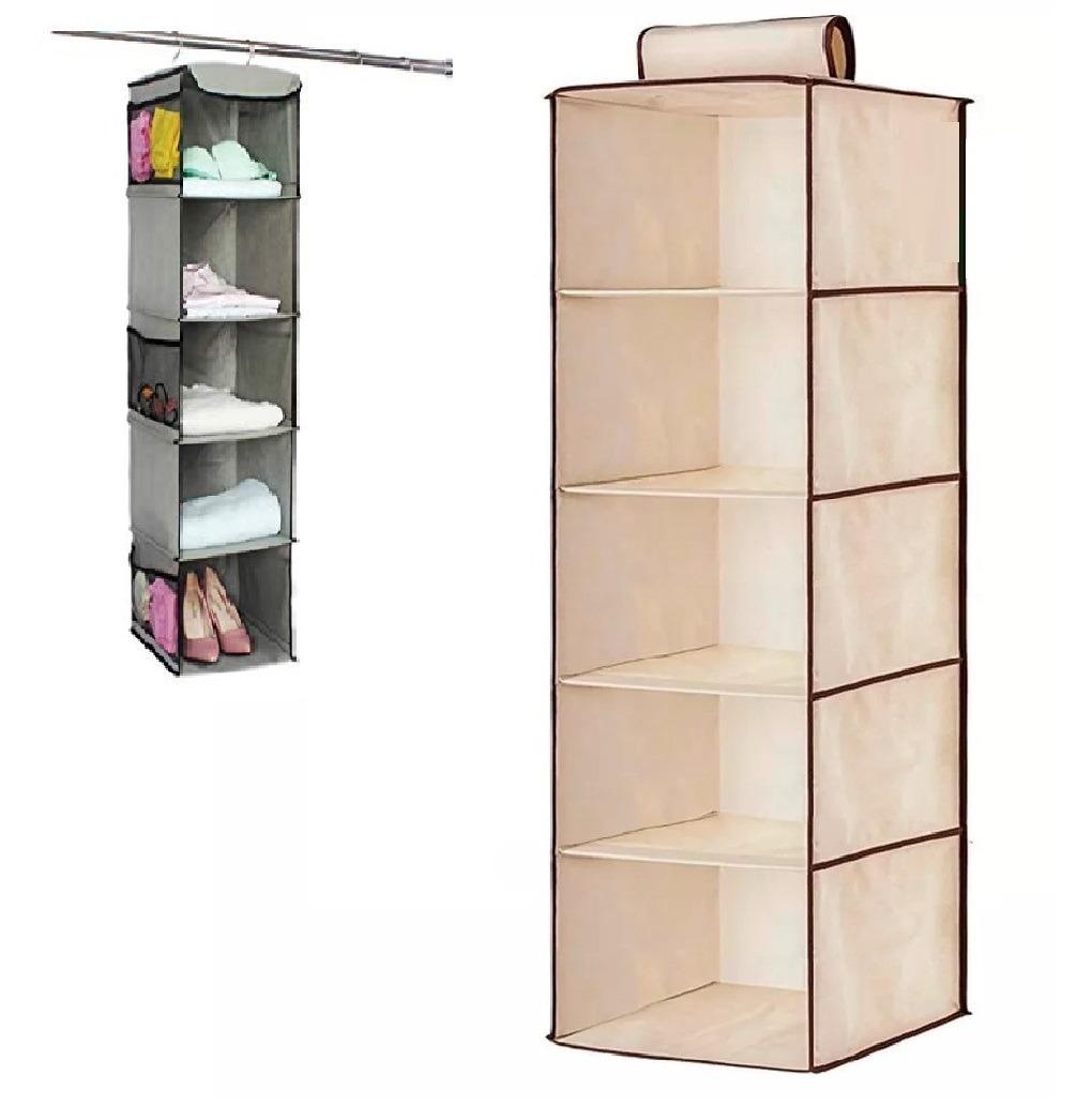 df276993 organizador zapatos ropa toallas libros colgante 5 estantes. Cargando zoom.