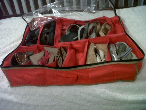 organizador zapatos, sandalias, ojotas, zapatillas.12 pares!