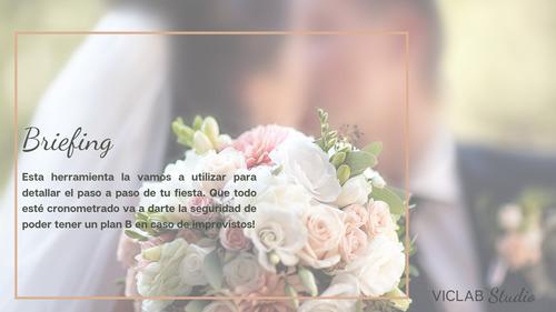 organizadora de eventos / wedding planner