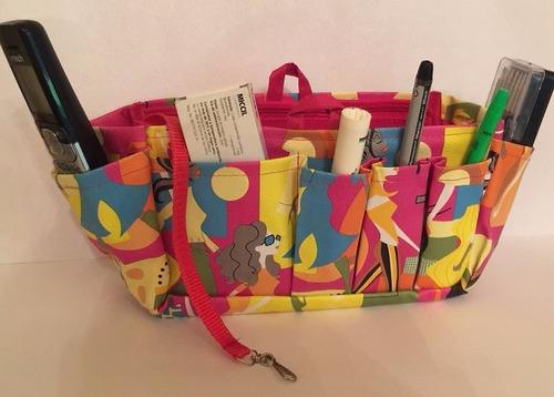 organizadora fabulosa bolsa lujo monas fiucha flete gratis