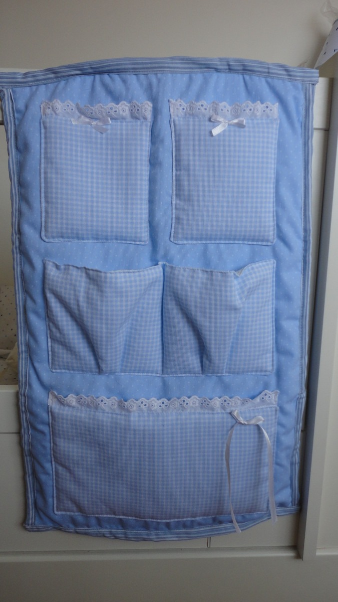 Telas para cunas de bebe banderines de tela para la habitacin del beb para cuna moiss para - Organizador de cuna ...