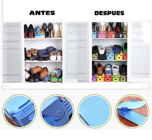 organizador/ordenador de zapatos (10 unid)