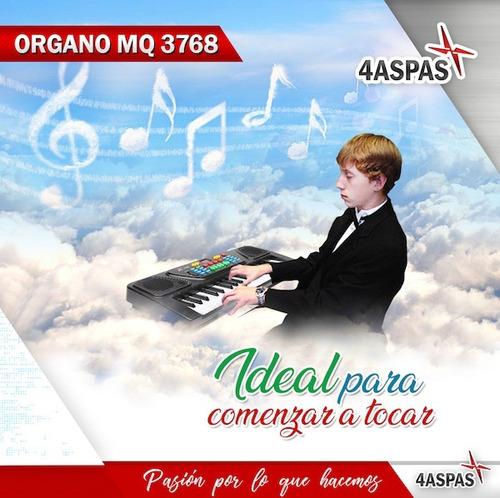 organo musical con 37 teclas teclado lcd microfono nuevo