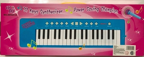 organo musical con microfono luz y sonido lalo sd985a