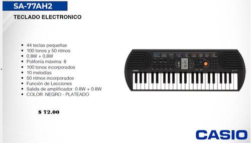 organo sintetizador casio varios modelos y karaoke de regalo