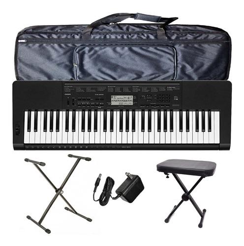 organo teclado casio ctk3500 pie funda atril fuente banqueta