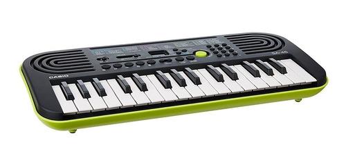 organo teclado casio sa46 32 teclas para niños + fuente gtia