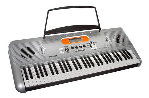 organo teclado medeli m5 sensitivo funda pie banqueta fuente