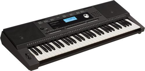 organo teclado roland ex20a 61 teclas sensitivo fuente envio